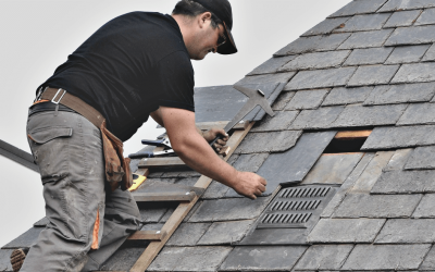 How to Repair Roof Shingles That Have Blown Off