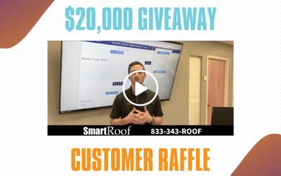 SmartRoof $20,000 Member Appreciation Raffle Winner 2020