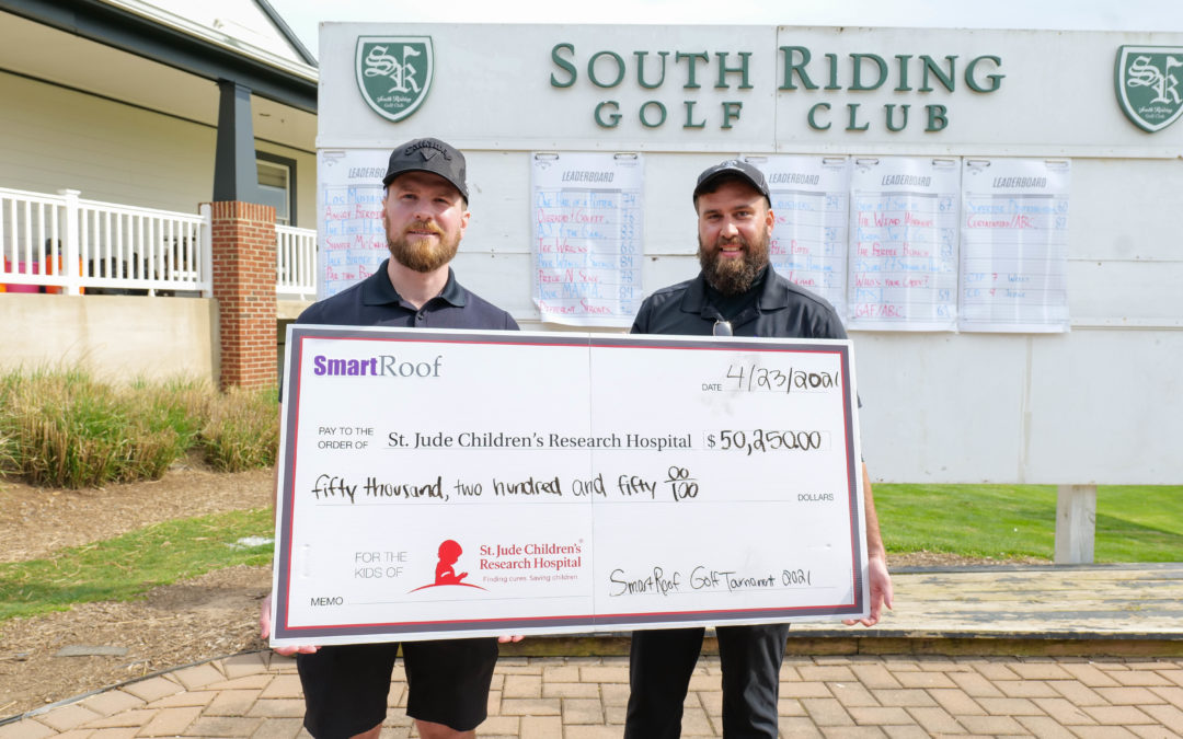 SmartRoof 2nd Annual Golf Tournament Raises Over $50,000 for St Jude Hospital